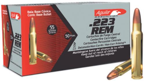 Aguila .223 Remington 55 gr, FMJ, 50rd Box