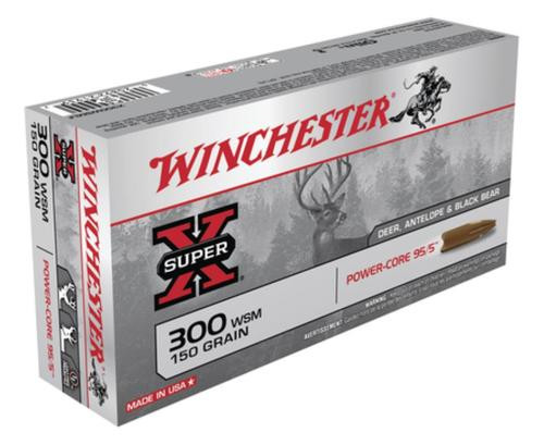 Winchester Super-X Power Core .300 Winchester Short Magnum 150gr, Power Core 95-5 20rd Box