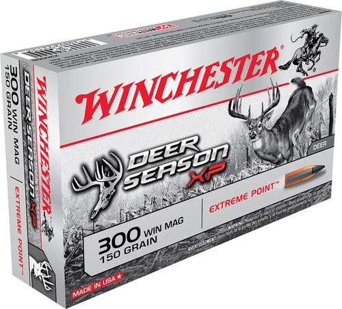 Winchester Deer Season, 300 Win, 150 Gr, Poly Tip, 20rd Box