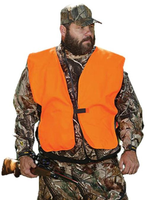 Allen Youth Hunting Vest Orange Big Man Acrylic