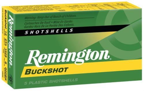 Remington Express Buckshot Shotshells 12 ga 3 41 Pellets 4 Buck Shot 5rd/Box