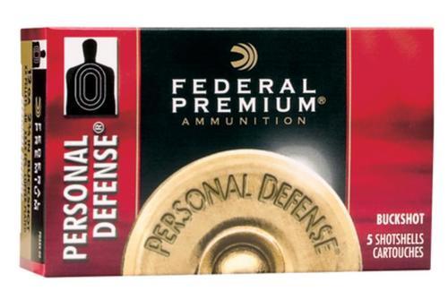 """Federal Premium Personal Defense 12 Ga, 2.75"""", 1150 FPS, 34 Pellets 4 Shot 5 Per Box"""