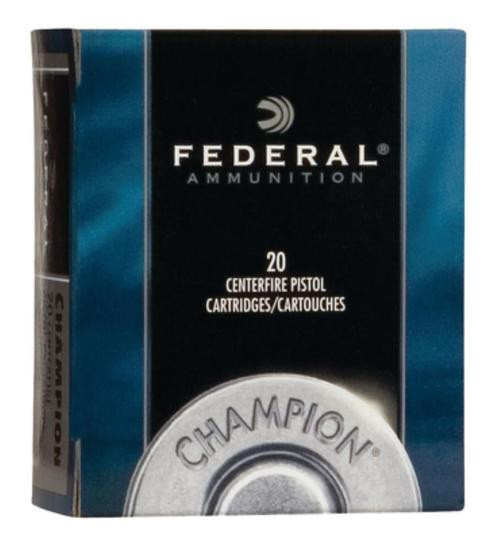 Federal Standard 32 H&R Mag Lead Semi-Wadcutter 95gr, 20rd Box