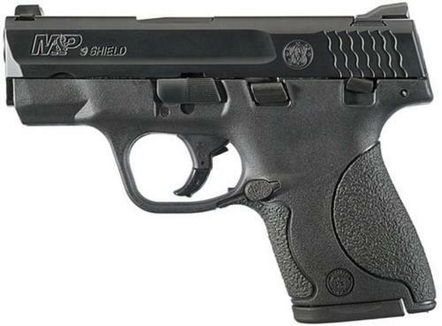 "Smith & Wesson M&P Shield 9mm, 3"" Barrel, Black Melonite Finish, 7rd, 8rd Mags"