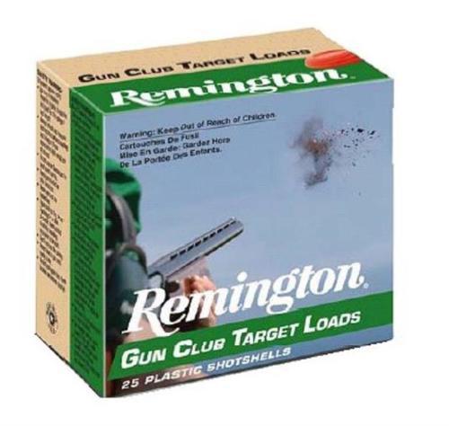 "Remington Gun Club Target Load 12 ga 2.75"" 1-1/8oz 7.5 Shot 25rd Box"
