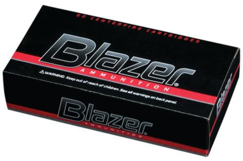 CCI Blazer .40 SW 165 Gr, Total Metal Jacket, Aluminum Case, 50rd Box