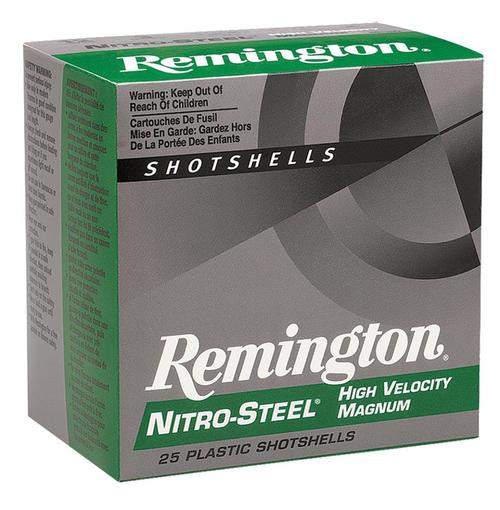 "Remington Nitro Steel Shotshells 16 Ga, 2.75"", .94oz, 2 Shot, 25rd/Box"