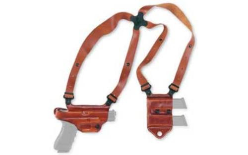 Galco Miami Classic II 1911 5 Shoulder Holster System RH Tan Leather