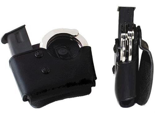 Galco Cop Mag/Cuff Paddle Carrier 357/40/9 Staggered Column Leather Black