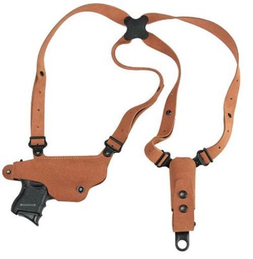 Galco Shoulder Holster System Classic Lite Shoulder Holster 224 in Natural