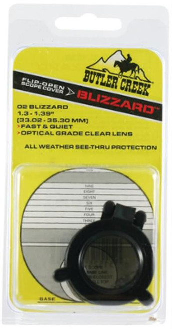 Butler Creek Blizzard See Thru Scope Cover Size 2