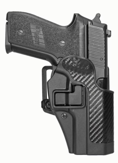 Blackhawk CQC Serpa Holster, Sig 228/229, Carbon Fiber, Right Handed