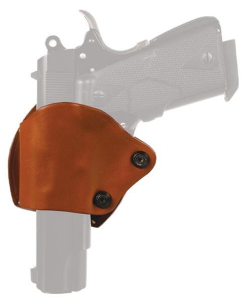 Blackhawk Leather Yaqui Slide Holster Brown Left Hand For Glock 9mm/.40/.357/Model 36