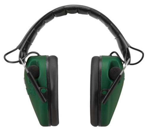 Caldwell E-MAX Low Profile Electronic Earmuffs (NRR 23dB) Green