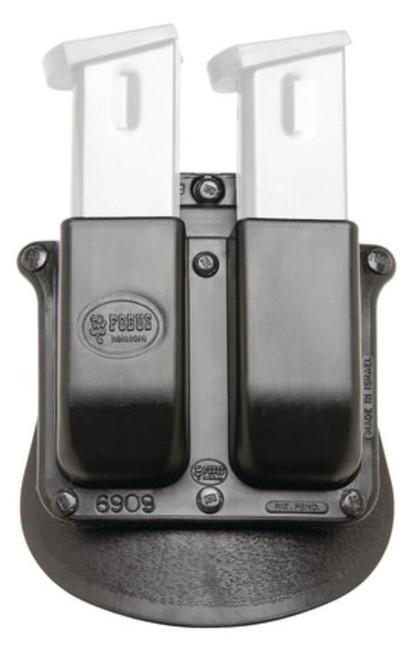 Fobus DBL MAG Pouch N/A Black Plastic