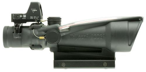 Trijicon ACOG Riflescope, 3.5x, 35mm Obj, Black, Crosshair Reticle