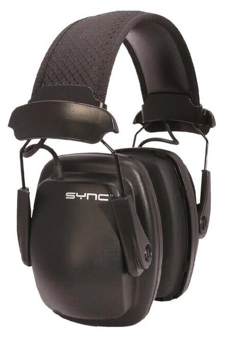 Howard Leight Sync Stereo Earmuff Black Clamshell Pkg