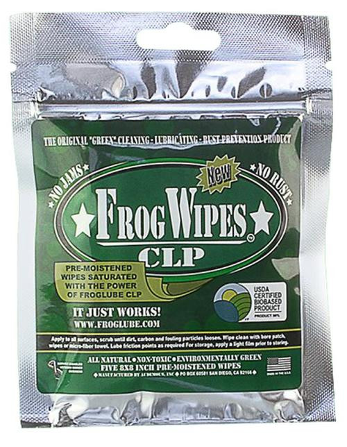 FrogLube CLP, Cleaning-Lubricating-Prevension, Wipes