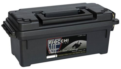 "Fiocchi Shooting Dynamics 12 Ga, 3"", 1-1/5 oz, 4 Shot, Plano Ammo Box, 100rd/Case (4 Boxes of 25rd)"