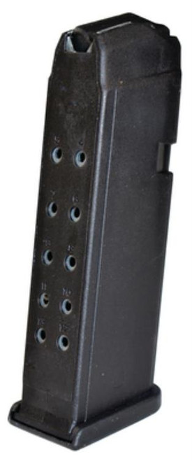 Glock G17/34 9mm Magazine, Polymer Black, 17rd