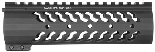 "Samson Evolution 7"" Handguard, Rails AR-15 Alum Black"
