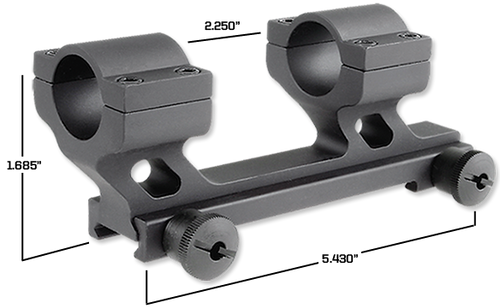 Rock River 30mm Hi Rise Scope Mount, Picatinny