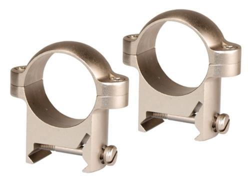 """Burris Zee Rings Weaver Style Bases Medium 1"""" Diameter Nickel"""