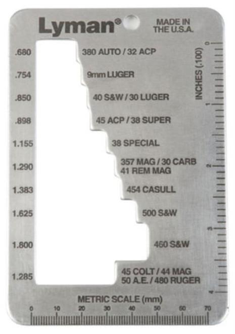 Lyman E-Zee Case Length Ga 1 All Over 70 Rifle/Pistol & Rifle Cases