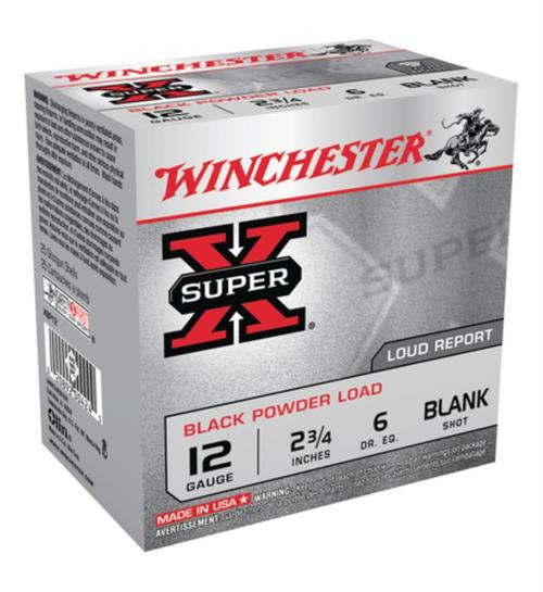 Winchester Super X Upland Blank 12 Ga, 25rd/Box - Not Ammo, These Are Blanks