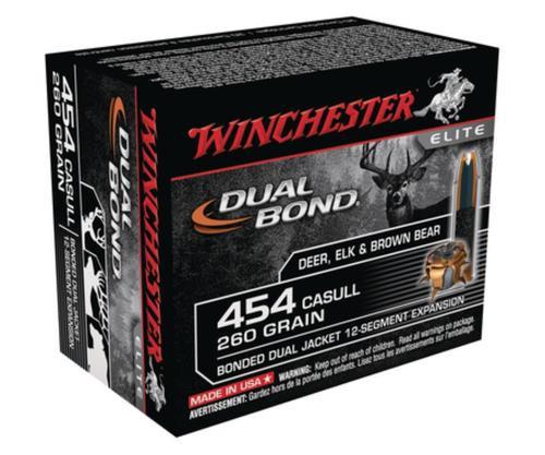 Winchester Dual Bond .454 Casull 260gr, Dual Bond