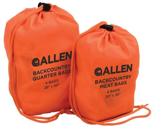 Allen Backcountry Quarter Bags 28x50 Inches Four Per Pack
