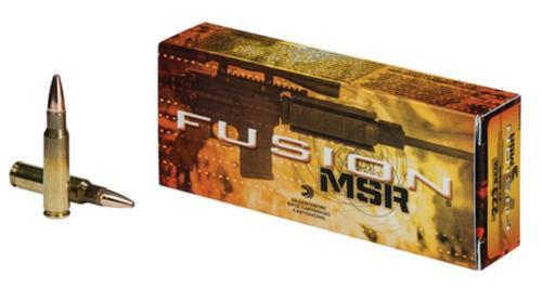 Federal Fusion .223 Remington 62gr, MSR 20rd Box