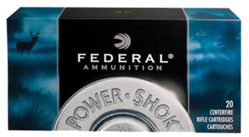 Federal Power-Shok 7mm-08 Remington Speer Hot-Cor SP 150gr, 20Box/10Case