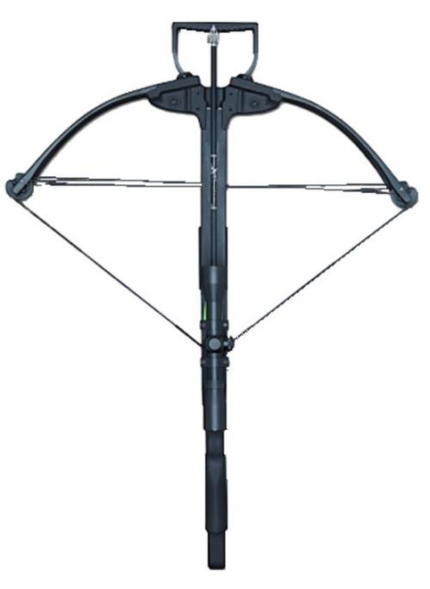 Carbon Express X-Force 350 Crossbow 300fps, 165 lbs, 4x32mm Scope, Black