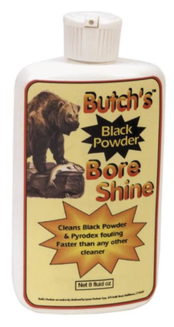 Lyman Butch's Gun Care Products Bore Cleaner 8 oz, Squeeze Bottle