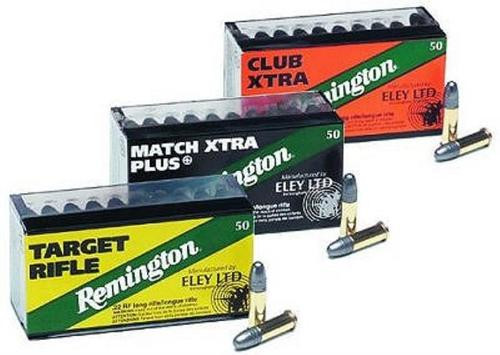 Remington Eley 22LR Lead Round Nose 40gr, 50rd/Box