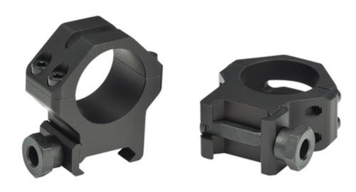 Weaver 4-Hole Tactical Picatinny Ring Short Matte Black 30mm