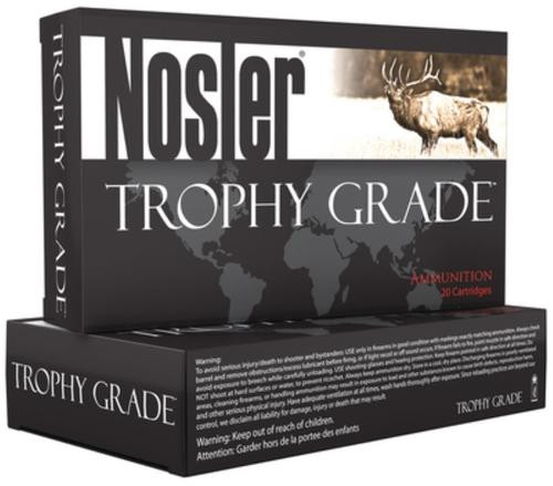 Nosler Trophy Grade .280 Rem Ackley Improved, 160gr, Partition, 20rd Box