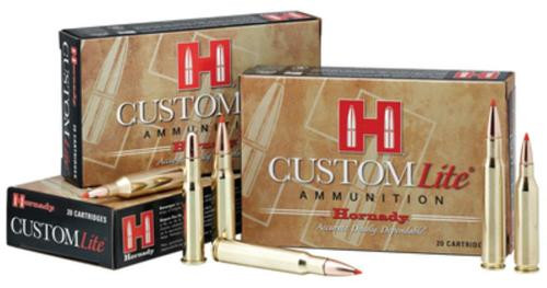 Hornady Custom Lite 7mm-08 Remington 120gr, SST 20rd Box