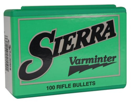 Sierra Varminter 22 Cal .224 50gr, Semi-Point, 100/Box