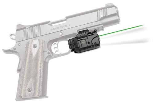 "Crimson Trace Rail Master Pro Universal Rail Mount Green Laser, White Light, Most Weapons With M1913 Picatinny Rail, 1-1/16"" Between Recoil lug and Trigger Guard"