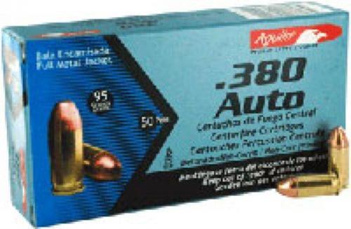 Aguila .380 ACP, 95 Gr, FMJ, 50rd Box