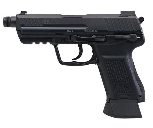 HK HK45 Tactical (V7) LEM DAO, two 10rd magazines
