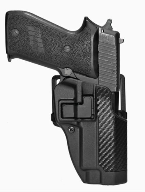 Blackhawk CQC Serpa Holster, Sig 220/226, Carbon Fiber, Right Handed