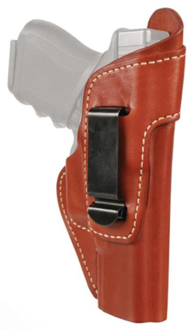 Blackhawk Leather Inside The Pants Holster With Clip Brown Right Hand For Glock 26/27/33