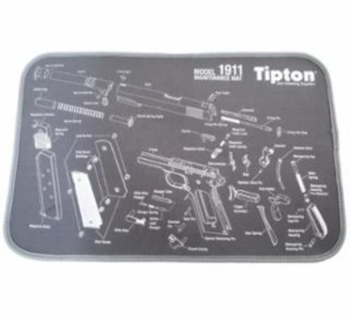 "Tipton Maintenance Mat 1911 Exploded View print Bench Mat 10"" x 12"""
