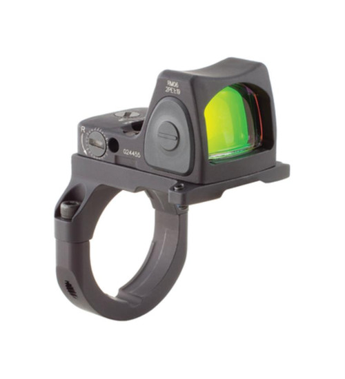 Trijicon RMR Ruggedized Miniature Reflex Sight 3.25 MOA Red Dot Reticle Matte Black With RM38 ACOG Mount