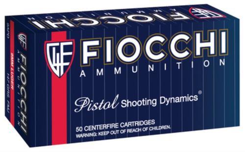 Fiocchi Shooting Dynamics 9mm 147gr, Full Metal Jacket