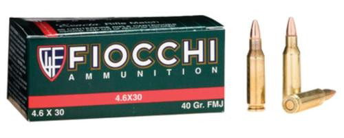 Fiocchi Exacta 4.6x30H&K 40gr, Full Metal Jacket 50rd Box