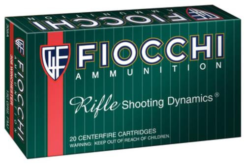 Fiocchi Shooting Dynamics .308 Winchester 150gr, FMJ, Boat-tail, 20rd Box